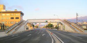 長野県長野市 ビッグハット前歩道橋