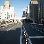 日吉坂上歩道橋