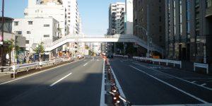 東京都港区 日吉坂上歩道橋