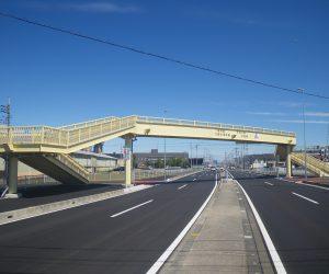 埼玉県川越市 今成小前歩道橋