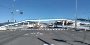 愛知県名古屋市 上志段味歩道橋