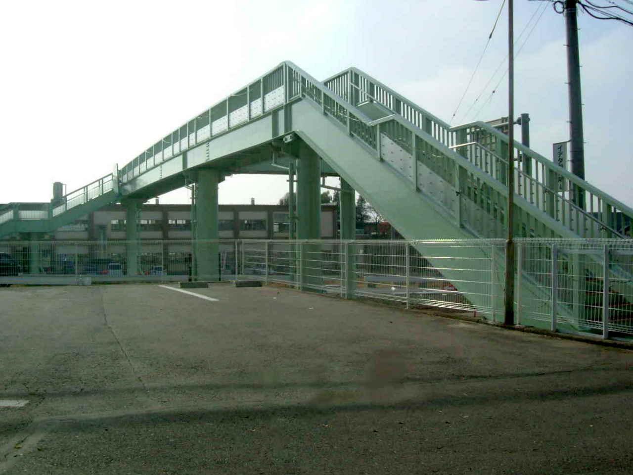 長野県上田市 神科歩道橋
