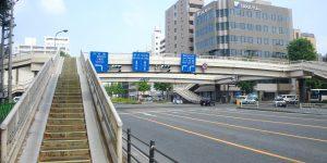 仙台市立町 歩道橋