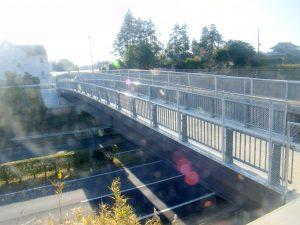 千葉県成田市 臼作歩道橋