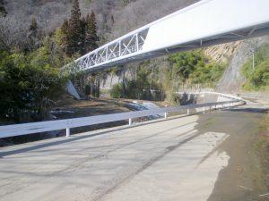 日原水管橋