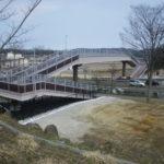 仙台市 錦ケ丘中学校歩道橋